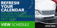 our salvage auction schedule has changed. Refresh your calendar.
