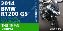 2014 BMW R1200 GS