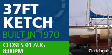 37ft Ketch built in 1970