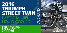 2016 Triumph Street Twin